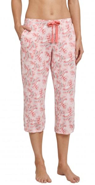 Mix und Relax - Damen Schlafanzughose Jerseyhose 3/4 lang 161025-524