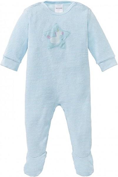 Schiesser Baby-Mädchen Einhorn Anzug mit Fuß 163368-807