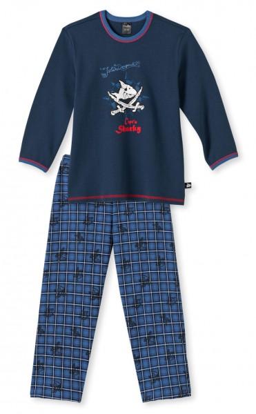 """Jungs Pyjama lang """"Capt`n Sharky"""" Schiesser 139709"""