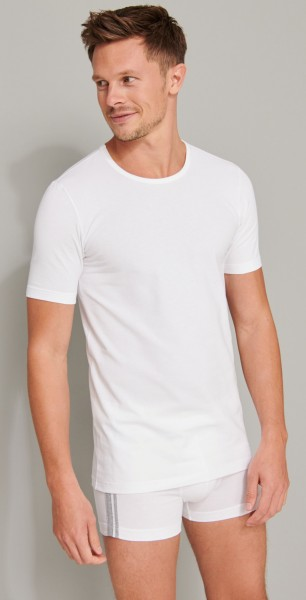 """Shirts Kurzarm 2er-pack """"Organic Cotton"""" Rundhals Weiß"""