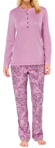 Pyjama lang 50+ Seidenfinish Schiesser 144157