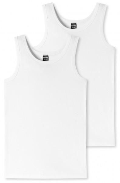 """Jungen Unterhemden """"Organic Cotton"""" im Doppelpack"""