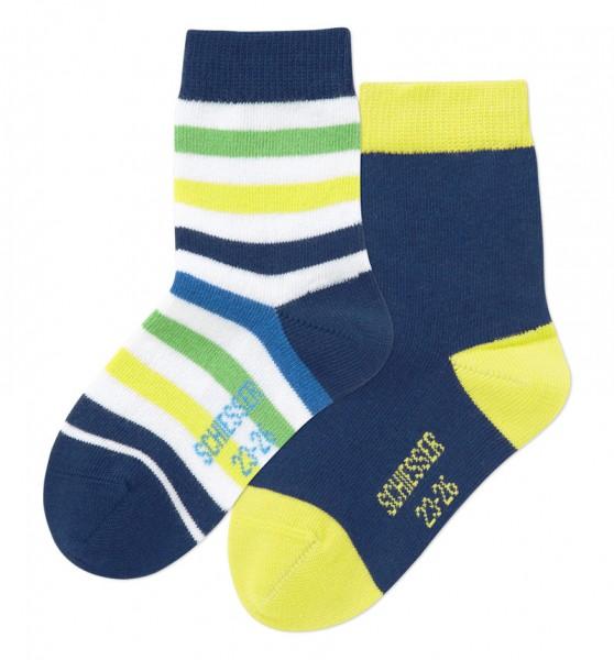 Knaben Socken 2er-Pack Schiesser 142521