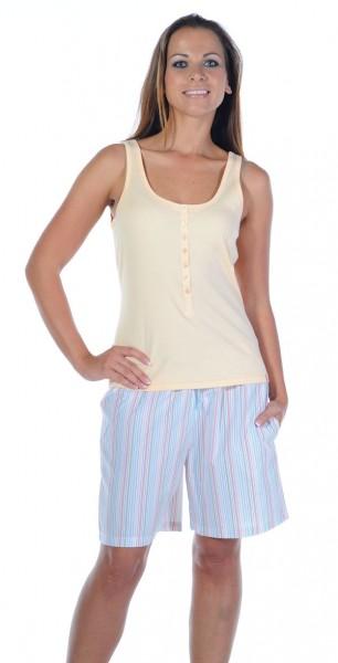 Damen Top Shirt ohne Arm 0/0 Mix und Relax Schiesser 121043