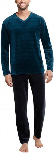 Schiesser Herren Schlafanzug Lang Pyjamaset 171493-804