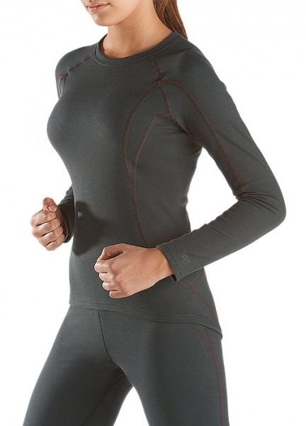 Damen Thermo Unterhemd Shirt Langarm Schiesser 105420
