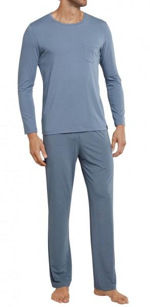 Schiesser Herren Schlafanzug Anzug lang 161182-209