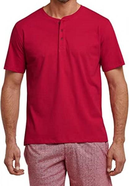 Mix & Relax Herren T-shirt Knopfleiste 163831-500