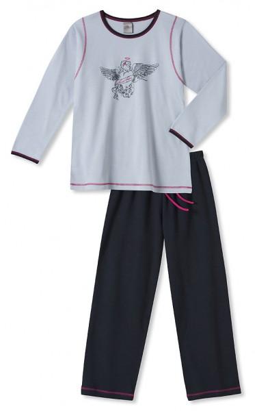 Mädchen Schlafanzug lang Sweet Angels Schiesser 117947