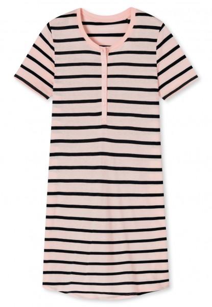 Schiesser Damen Sleepshirt 1/2 Arm Nachthemd, zartrosa 174861-523
