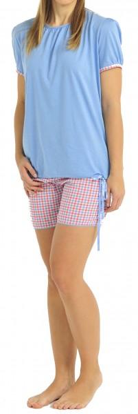 Damenschlafanzug kurz Modal Schiesser 133227