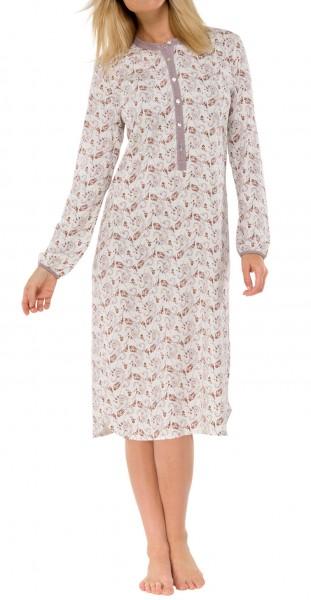 Damennachthemd Sleepshirt lang 50+ Schiesser 140482