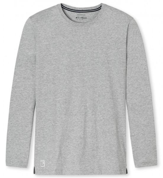Shirt mit 1/1 Arm Rundhals Mix und Relax Schiesser 146862