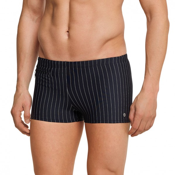 Schiesser Herren Bade- Retro Shorts Pants 141062-000