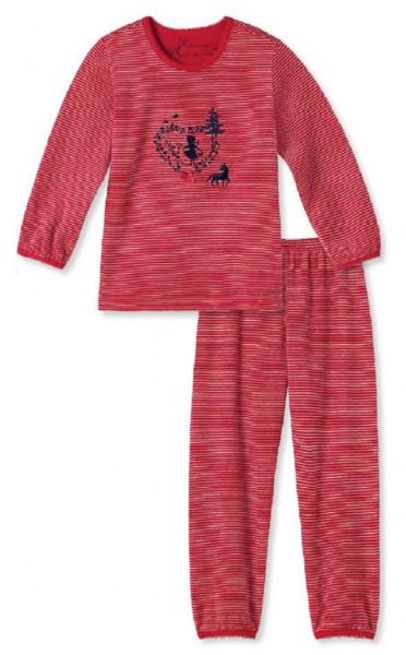 Schiesser Mädchen Schlafanzug lang Pyjamaset 140949-500