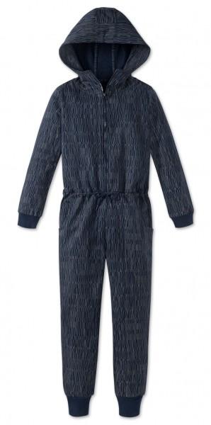 Schiesser Jungen Einteiliger Schlafanzug Mix & Relax Jumpsuit