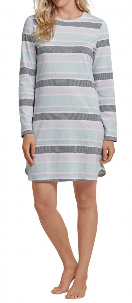 Schiesser Damen Sleepshirt 1/1 Arm, 90cm 164768-809