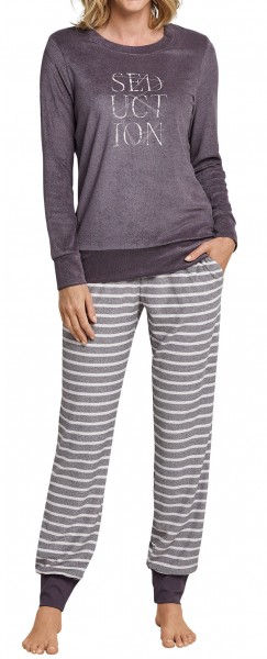 Schiesser Damen Schlafanzug lang 163101-303