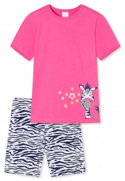 Schiesser Mädchen Schlafanzug kurz Pyjamaset 173273-504