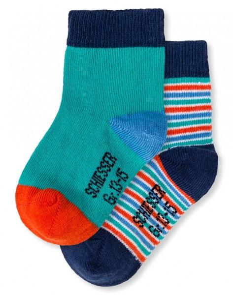 Jungen Baby Socken 2er-Pack Schiesser 146511