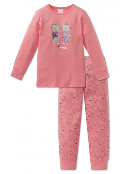 Schiesser Mädchen Schlafanzug lang 163352-517