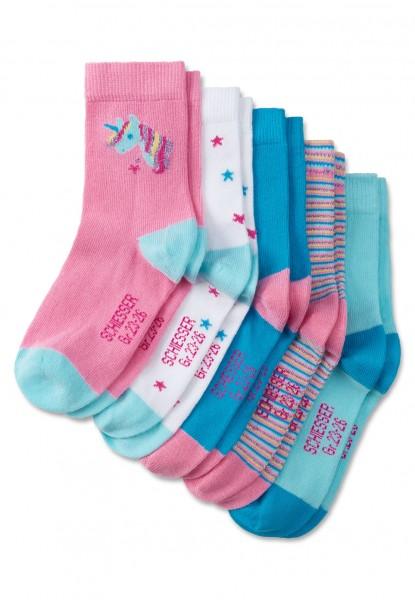 Schiesser 5pack Kids Socken Mädchen 161334-901
