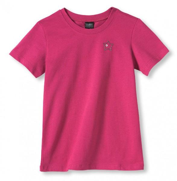 Mädchen Shirt mit 1/2 Arm Glitzersteine Schiesser 118391