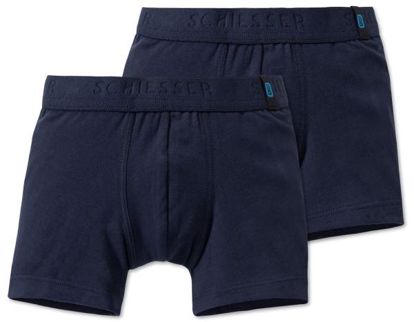2 Jungen Shorts 95/5 Schiesser 159299