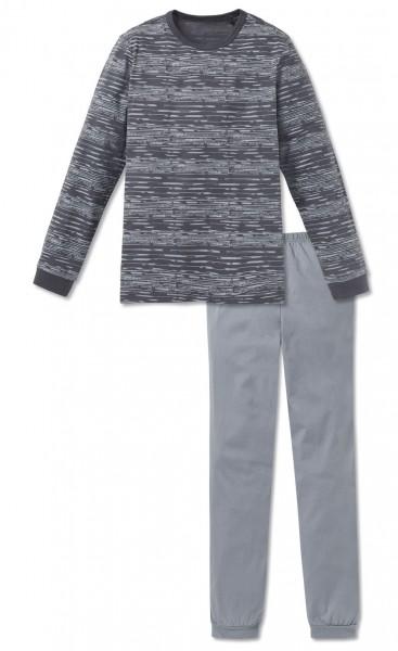 Schiesser Jungen Zweiteiliger Schlafanzug Anzug lang 163223-207