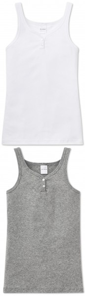 Mädchen Unterhemd Top ohne Arm 0/0 Soft-cotton Schiesser 131078