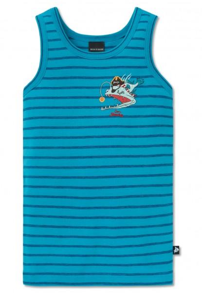Schiesser Jungen Unterhemd Capt´n Sharky 160491-807