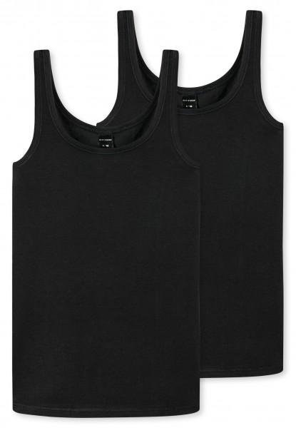 """Mädchen Unterhemden """"Organic Cotton"""" im Doppelpack"""