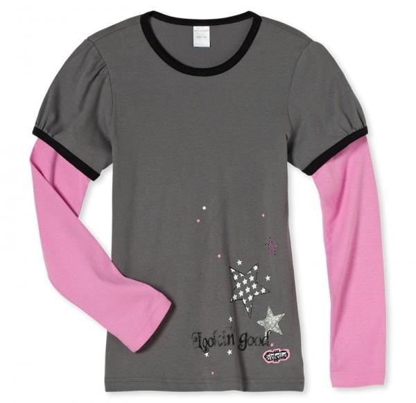 Mädchen Shirt langer Arm 1/1 Rebella Schiesser 136025