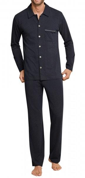 Schiesser Herren Pyjama lang 163903-203