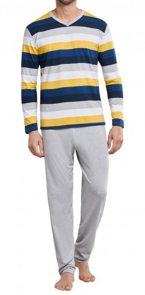 Schiesser Herren Pyjama lang 171380-608