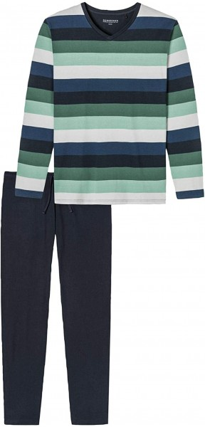 Schiesser Herren Schlafanzug Lang Pyjamaset 171380-700
