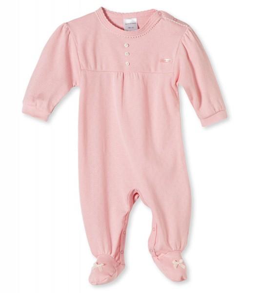 Baby Strampler Anzug mit Fuß Langarm Tausendsassa Schiesser 136190