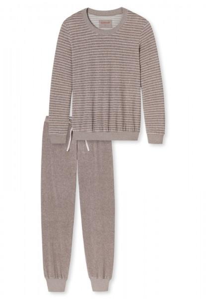Schiesser Damen Zweiteiliger Schlafanzug Selected Premium Anzug Lang