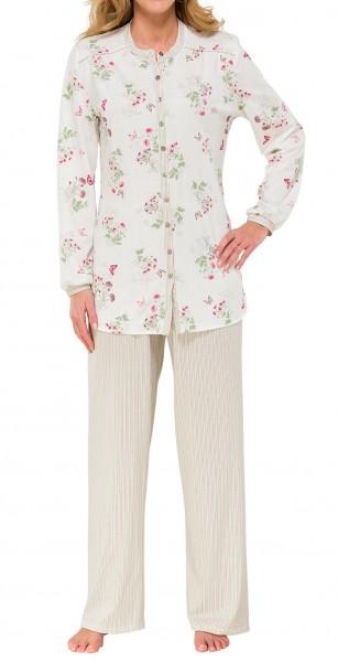 Damen Schlafanzug lang 50+ Schiesser 139779