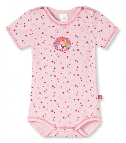 """Baby Mädchen Body 1/2 Arm """"Prinzessin Lillifee mit Einhorn Rosalie"""" Schiesser 141705"""