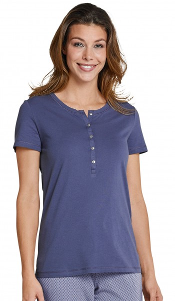 Mix und Relax - Basic Shirt 1/2 Arm dunkelblau Schiesser 151502