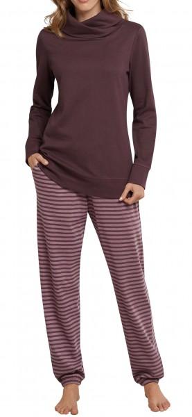 schiesser damen zweiteiliger schlafanzug anzug lang. Black Bedroom Furniture Sets. Home Design Ideas