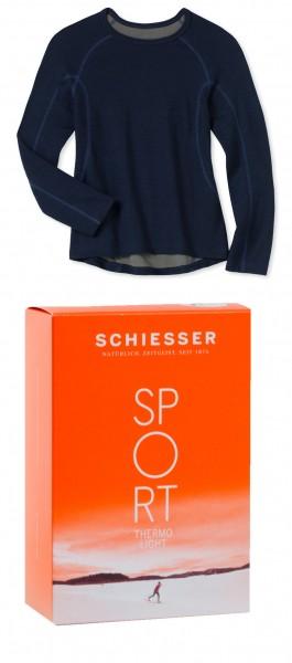 Kinder Winterunterwäsche Shirt 1/1 Arm Thermo light Schiesser 134564