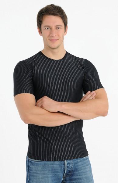Herren Shirt Halbarm 1/2 Rundhals Meryl Schiesser 125552