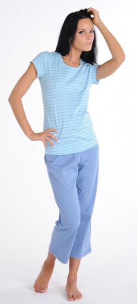 Damen Shirt Hemd Halbarm 1/2 Mix und Relax Schiesser 121045