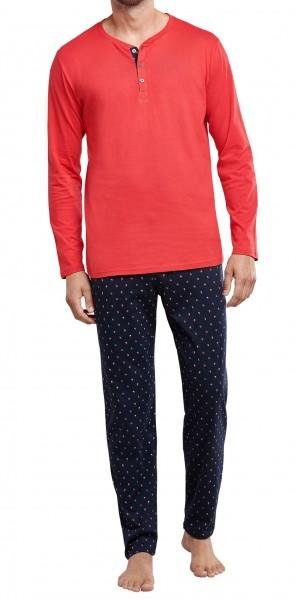 Schiesser Herren Pyjama lang 171825-500