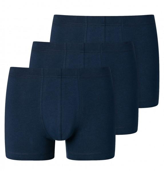 Shorts 3er-Pack Organic Cotton dunkelblau
