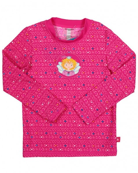 Schiesser Mädchen Bade-Shirt Aqua Prinzessin Lillifee 155783-508