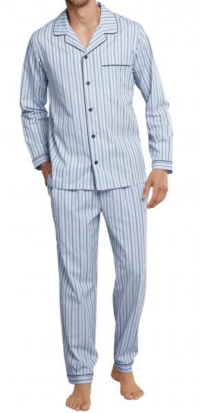 Schiesser Herren Pyjama Lang 161550-805