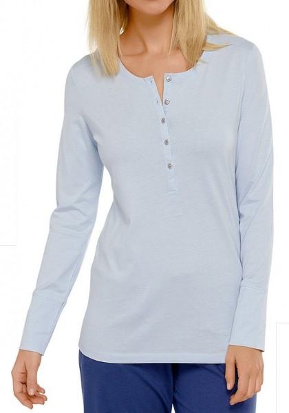 Mix und Relax - Shirt mit 1/1 Arm Knopfleiste Schiesser 148906